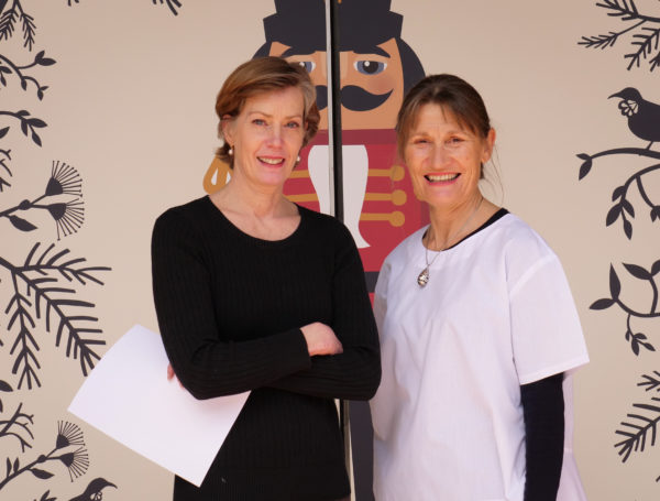 Patricia Barker, Artistic Director (left) and Celia Walmsley, Interim Executive Director (right), Royal New Zealand Ballet